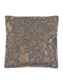 Jewel leopard cushion