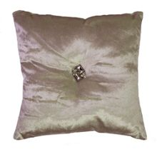 Gatsby cushion in shell