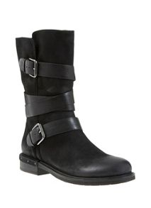 Black Izzy Nubuck Boot