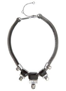 Five Stone Collar Necklace