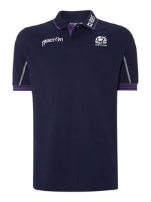 Scottish Rugby Regular Fit Polo Shirt