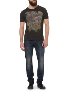 Roses Collage Print Graphic T-Shirt