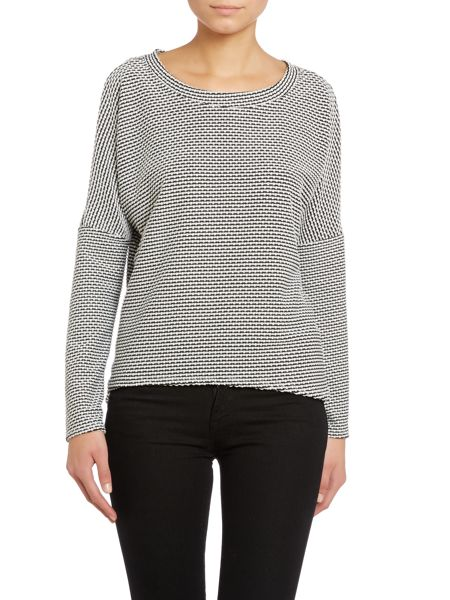 Wal-G Knit long sleeved round neck jumper