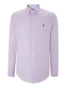 Multi Gingham Custom Fit Shirt