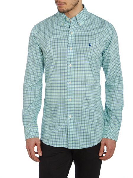 Polo Ralph Lauren Multi Gingham Slim Fit Shirt