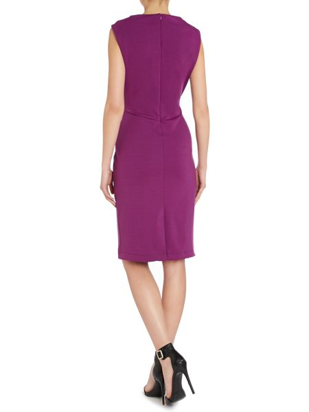 Pied a Terre Slash Neck Bodycon Dress