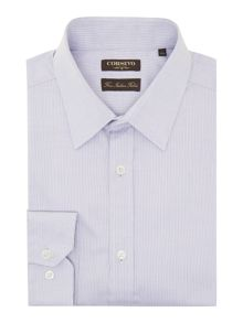 Tronto split herringbone shirt