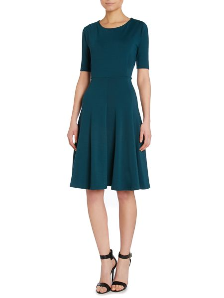 Pied a Terre Fit and Flare Sleeved Dress