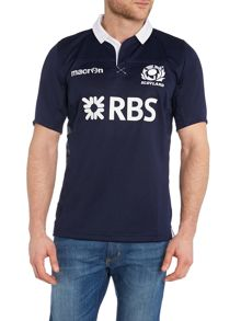 Scottish Rugby Short Sleeve Home Rugby T-Shirt