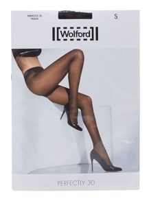 Wolford Navy perfectly 30D tights