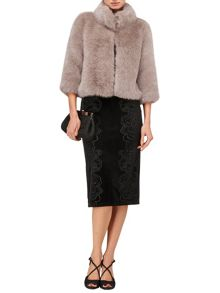 Ophelia faux fur jacket