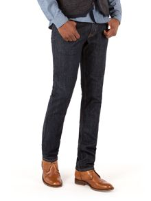 Racing Green Marr Slim Fit Stretch Rinse Wash Jeans