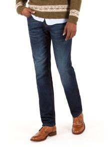 Dean straight fit stone wash jeans