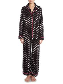 EXCLUSIVE Black Dot pyjama set