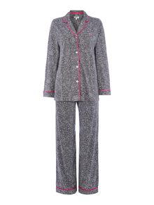 EXCLUSIVE Grey Animal pyjama set