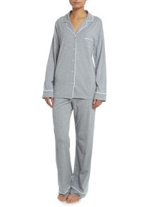 Signature long jersey pyjama set