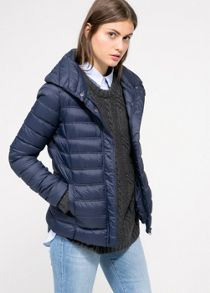 Waterproof feather-down coat