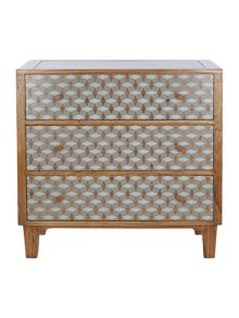Geo 3 drawer chest