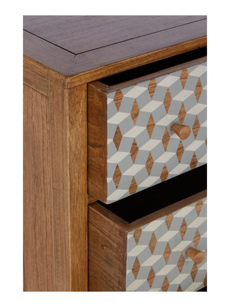 Living by Christiane Lemieux Geo 3 drawer chest