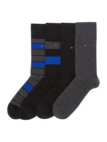 Tommy Hilfiger 4 pack sock in a box
