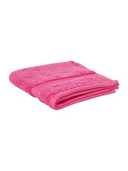Egyptian Cotton Face Cloth in Hot Pink