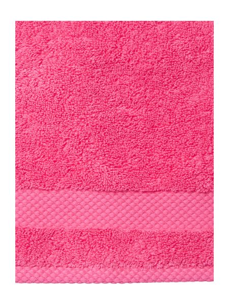 Linea Egyptian Cotton Face Cloth in Hot Pink
