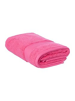 Egyptian Cotton Hand Towel in Hot Pink
