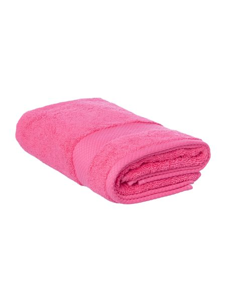 Linea Egyptian Cotton Hand Towel in Hot Pink