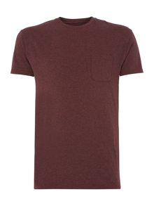 Austin short sleeve crew neck pocket t-shirt