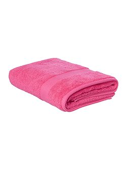 Egyptian Cotton Bath Towel in Hot Pink