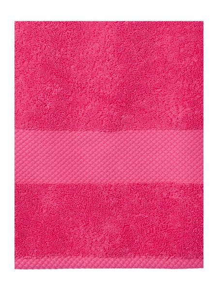 Linea Egyptian Cotton Bath Towel in Hot Pink