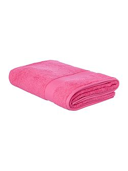 Egyptian Cotton Bath Sheet in Hot Pink