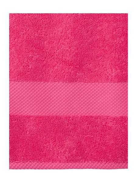 Linea Egyptian Cotton Bath Sheet in Hot Pink