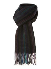 Paul Smith London College stripe scarf