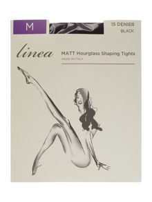 15 Denier hourglass shaping tights
