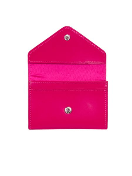 Paper Thinks Red leather small card envelope