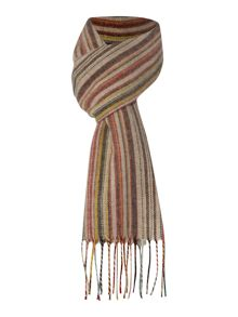 Multi wool cashmere blend scarf