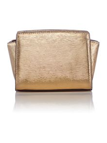 Selma gold small cross body bag