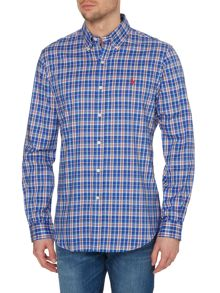 Classic Long Sleeve Multi Stripe Custom Fit Shirt