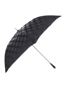 Lulu Guinness Jumbo dot ascot umbrella