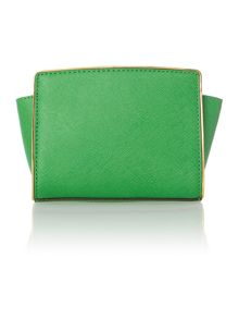 Selma specchio green small cross body bag