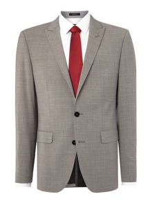 Melange Slim Fit Suit