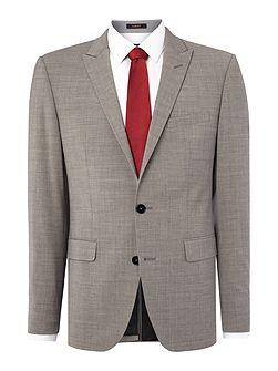 Melange Slim Fit Suit Jacket