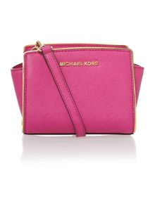 Selma specchio pink small cross body bag