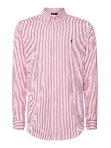 Bengal Stripe Slim Fit Long Sleeve Shirt