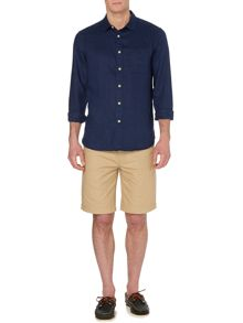 Columbia plain linen long sleeve shirt