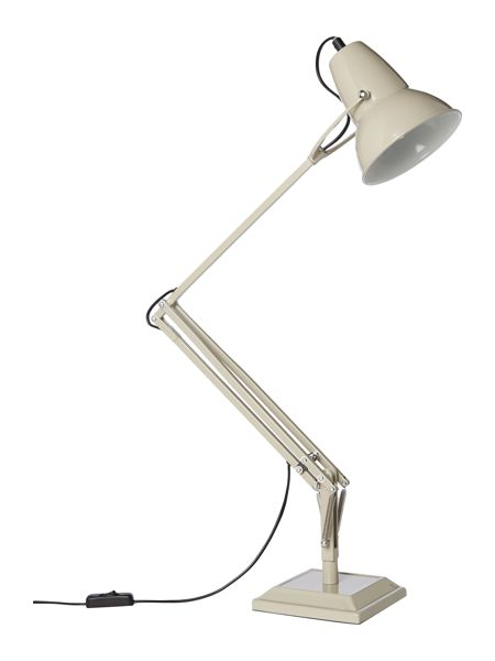 Linea Henry taupe metal table lamp