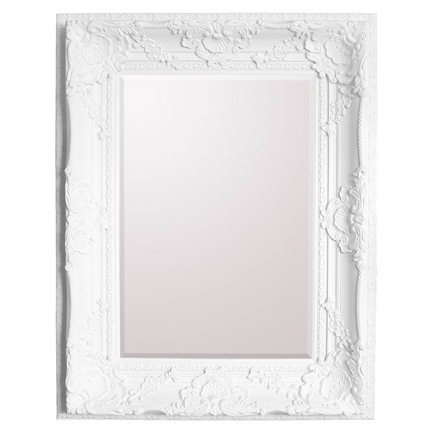 Baroque frame shop for cheap house accessories and save for Cheap white mirror