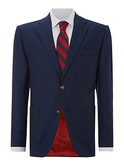 Brigham Patch Pocket Blazer With Gold Buttons
