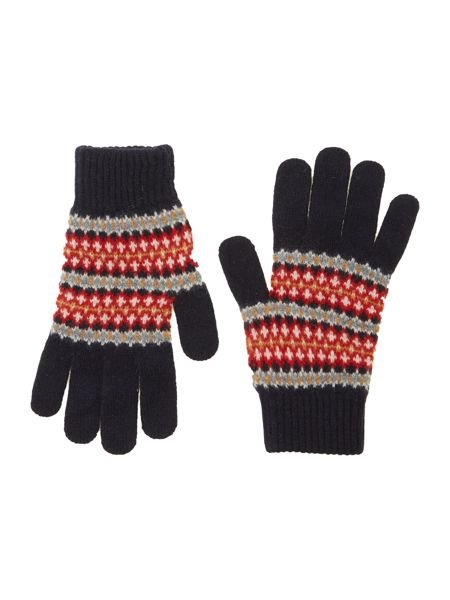 Barbour Dunkeld fairisle gloves